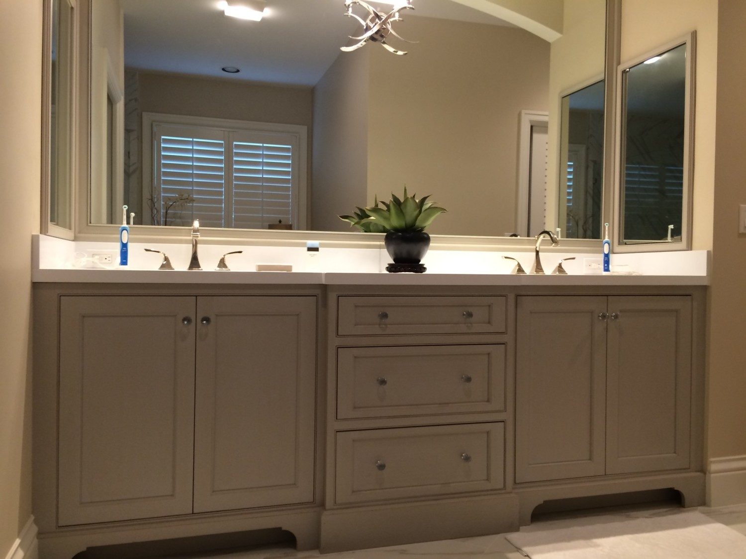 overcast gray bathroom vanity - Gray Bathroom Vanity